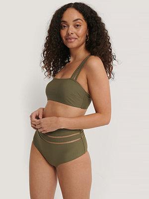 NA-KD Swimwear Bikiniunderdel grön