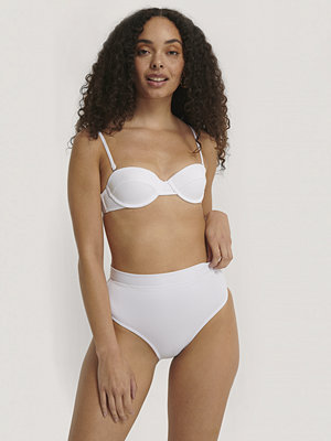 Trendyol Bikiniunderdel Med Struktur vit
