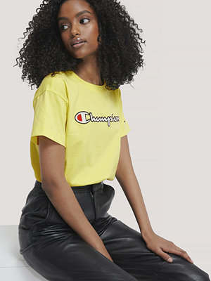 T-shirts - Champion Crewneck T-Shirt gul