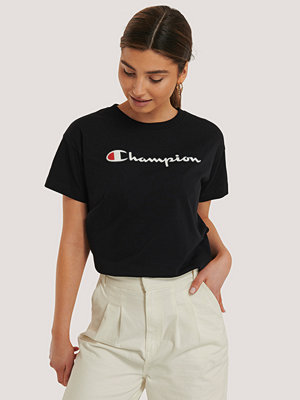 Champion Crewneck T-Shirt svart