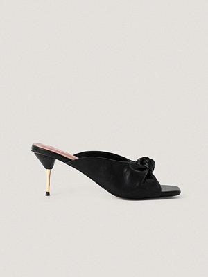 NA-KD Shoes Mulesandaler Med Klack svart