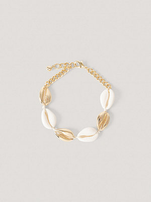 NA-KD Accessories smycke Shell Anklet guld