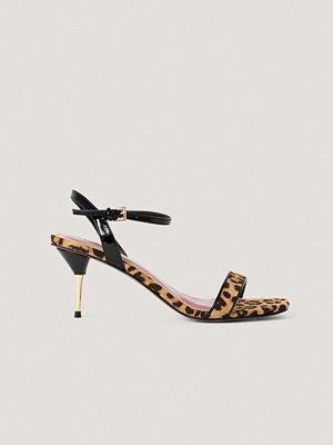 NA-KD Shoes Stilettklackar Med Vristrem multicolor