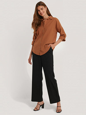 Trendyol Oversize Skjorta orange