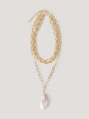NA-KD Accessories smycke Kedjehalsband guld