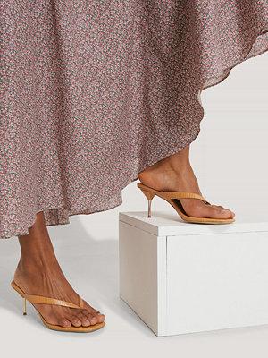 NA-KD Shoes Sandaler brun