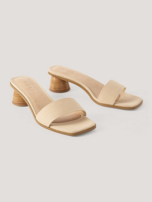NA-KD Shoes Mulesandal beige