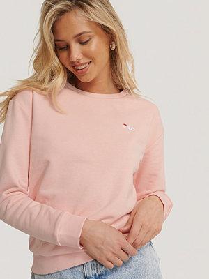 Fila Tröja Med Rund Halsringning rosa
