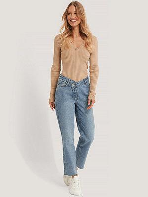 NA-KD Trend Jeans blå