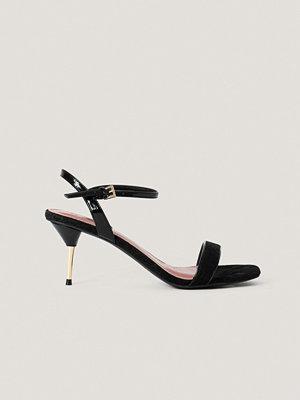 Pumps & klackskor - NA-KD Shoes Stilettklackar Med Vristrem svart