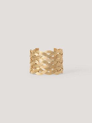 NA-KD Accessories smycke Armband Med Grov Kedja guld