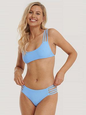 NA-KD Swimwear Strappy Vacay Bikinitrosa blå