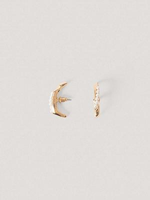 NA-KD Accessories smycke Pärla-I-Pärla-Örhängen guld