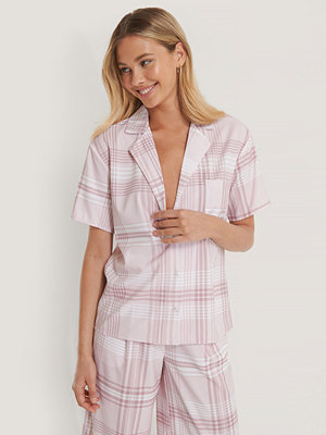 NA-KD Checked Shirt rosa