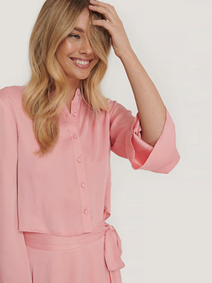 Blusar - NA-KD Trend Blus rosa