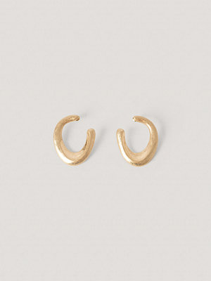 NA-KD Accessories smycke Matte Chubby Earrings guld