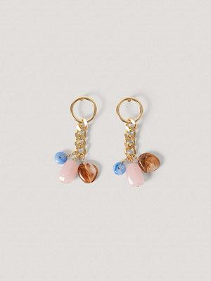 NA-KD Accessories smycke Kedjeörhängen Med Dropphänge guld