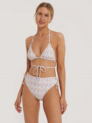 NA-KD Swimwear Bikinitrosa Med Hög Midja Och Band multicolor