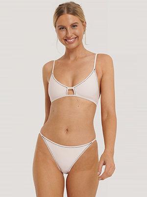 NA-KD Swimwear Bikinitrosa Med Band I Sidan rosa