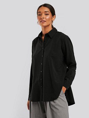 NA-KD Recycled Oversize Skjorta svart