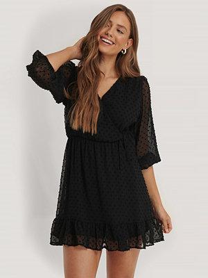 Trendyol Miniklänning Med Textur svart