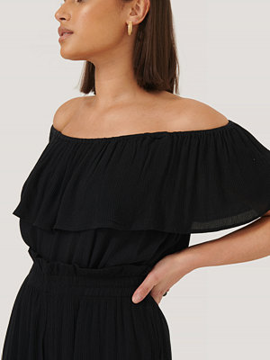 Sparkz Off Shoulder-Topp svart