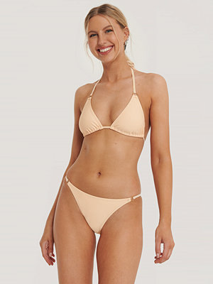NA-KD Swimwear Detail Thin Strap Bikini Brief orange