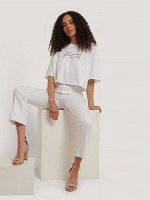 Abrand T-Shirt vit