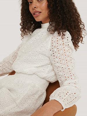 Sisters Point Långärmad Miniklänning vit