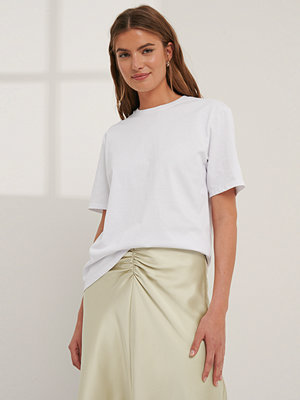 Mathilde Gøhler x NA-KD Oversize T-Shirt vit