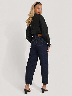 Levi's Jeans Med Hög Midja blå