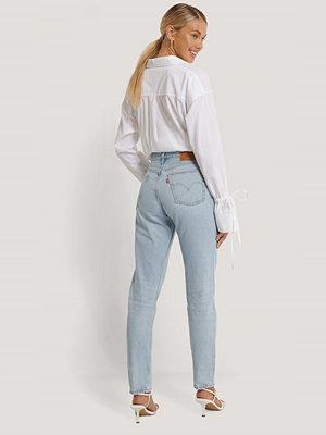 Levi's 501 Croppade Jeans blå