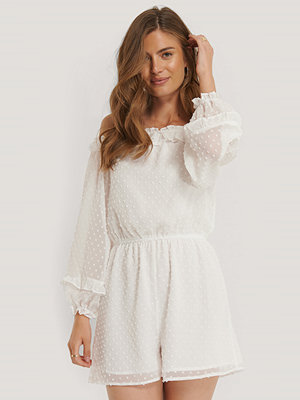 NA-KD Playsuit vit