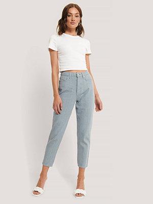 Jeans - NA-KD Reborn Ljusblå Mom Jeans blå
