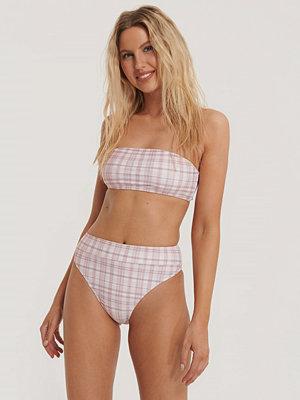 NA-KD Swimwear Maxi Highwaist Bikini Panty rosa