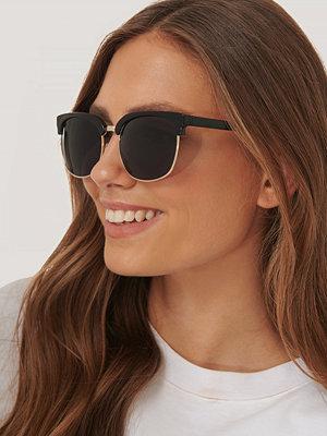 NA-KD Accessories Solglasögon Med Runda Bågar svart