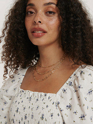 NA-KD Accessories smycke Halsband Med Kedjor I Olika Lager guld