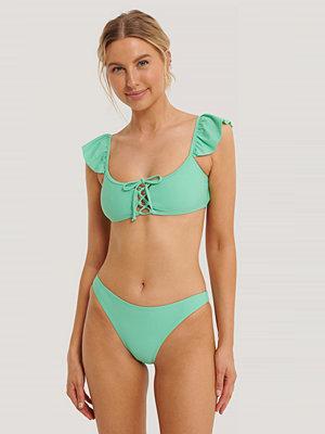 NA-KD Swimwear Bikini Panty grön