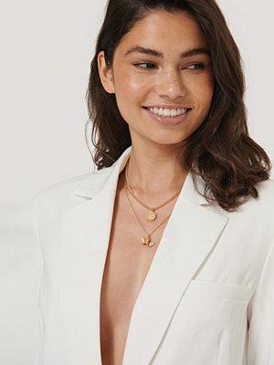 Hoss x NA-KD smycke Halsband I Lager Med Mynt Och Kedja guld