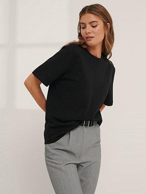 Mathilde Gøhler x NA-KD Oversize T-Shirt svart