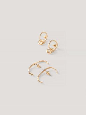 NA-KD Accessories smycke In-Ear Cuff Och Hoopset guld