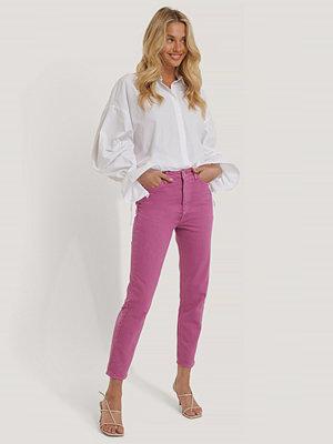 Trendyol Mom-Jeans Med Hög Midja rosa