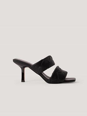 NA-KD Shoes Mulesandal svart