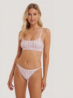 NA-KD Swimwear Bikinitrosor Med Tunna Band rosa