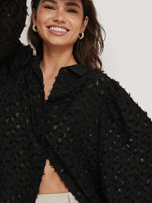NA-KD Classic Skjorta Med Knappar svart