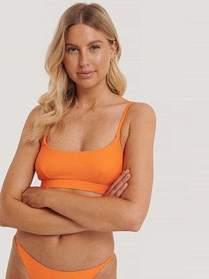 Bikini - NA-KD Swimwear Bikiniöverdel orange