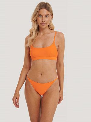 Bikini - NA-KD Swimwear Bikinitrosor Med Tunna Band orange