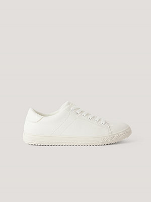 NA-KD Shoes Basic Tennissko vit