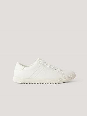Sneakers & streetskor - NA-KD Shoes Basic Tennissko vit