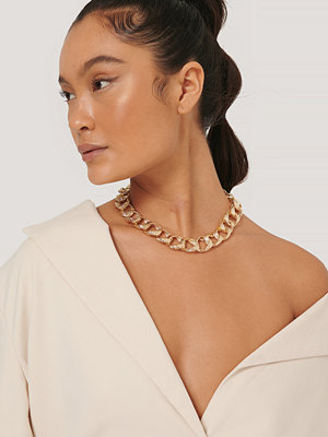 NA-KD Accessories smycke Hamrat Kedjehalsband guld